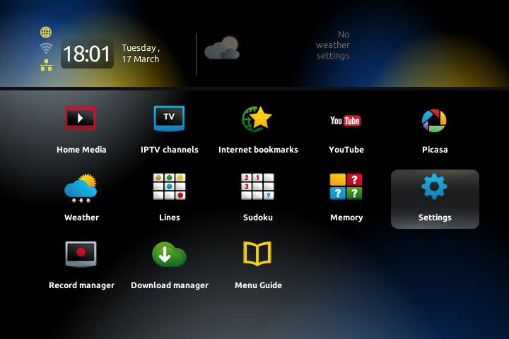 1.1 konfigurimi i mag 250 për iptv Konfigurimi i MAG 250 për IPTV 1